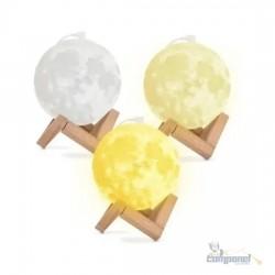 Umidificador E Aromatizador Luminaria Abajur E Lua Cheia 3d